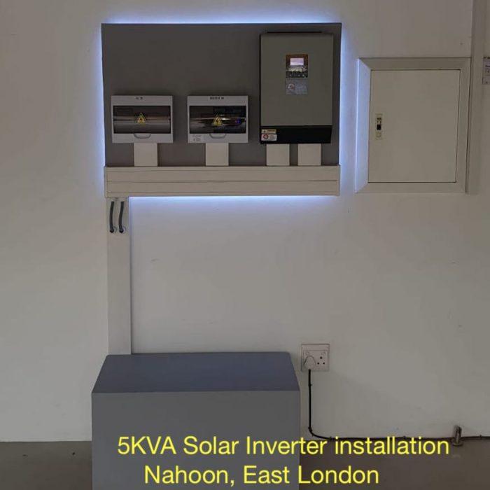 5KVA solar installation